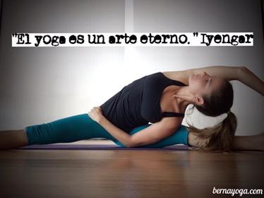 El yoga es un arte eterno -Iyengar
